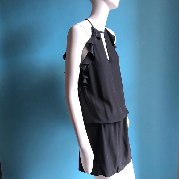 Amanda Uprichard Dresses & Skirts - Black Satin Crepe Amanda Uprichard Dress sz P XS